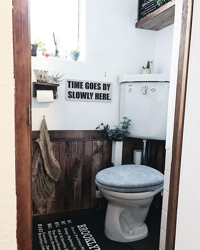 トイレの収納棚DIY