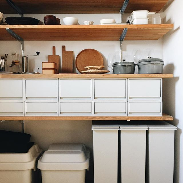 狭いキッチンのゴミ箱の置き場所15