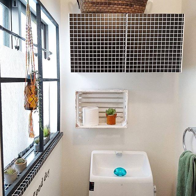 トイレの収納棚DIY16