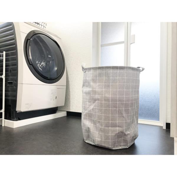 ストレージボックスを洗濯カゴとして活用