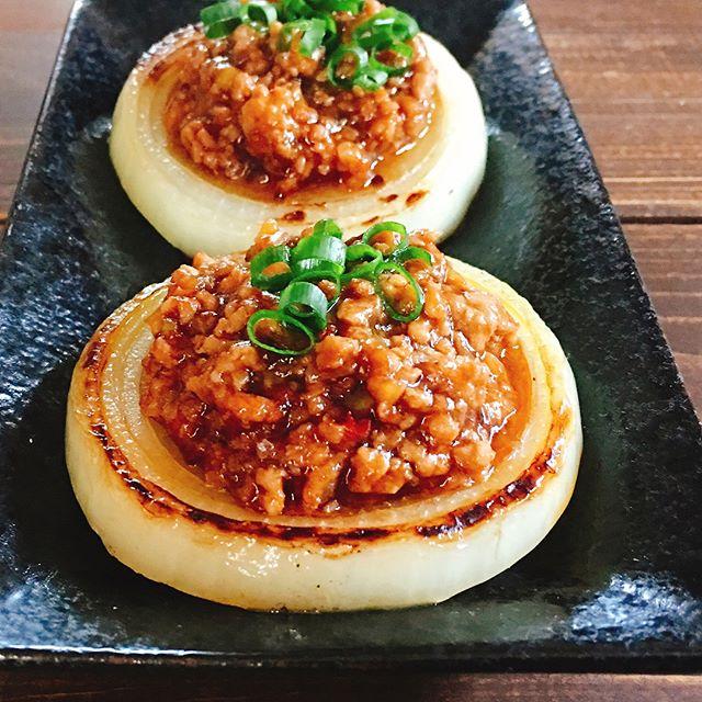 豚ひき肉で作るおかず!玉ねぎソテーの肉味噌