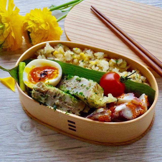 簡単な食べ方!タコと長芋のとびっこワサビマヨ