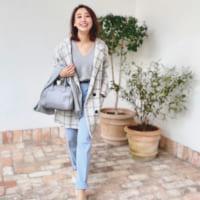 【1/9更新】Sサイズさんの〝OLリアルコーデ〟読者モデル、阿部 早織の着こなし術