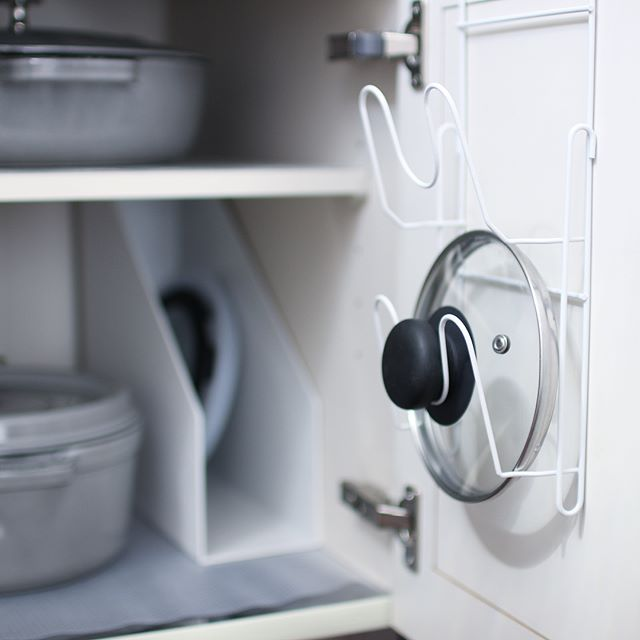 ワンルームのキッチン収納実例22