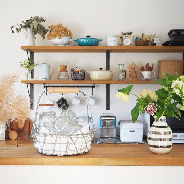 おすすめキッチン雑貨:かごボックス