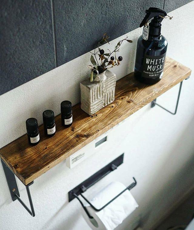 トイレの収納棚DIY5