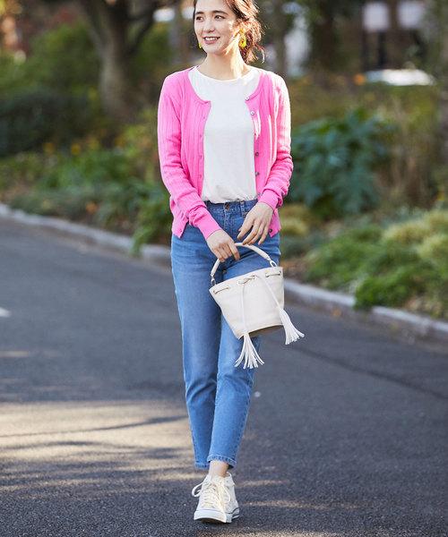 【韓国】4月に最適な服装:パンツコーデ5