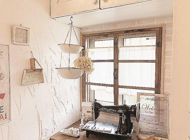 漆喰壁でプロヴァンス風インテリア2