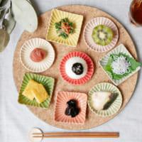 並べるだけで食卓を明るくしてくれる♪パッと咲く豆皿「花あかり」