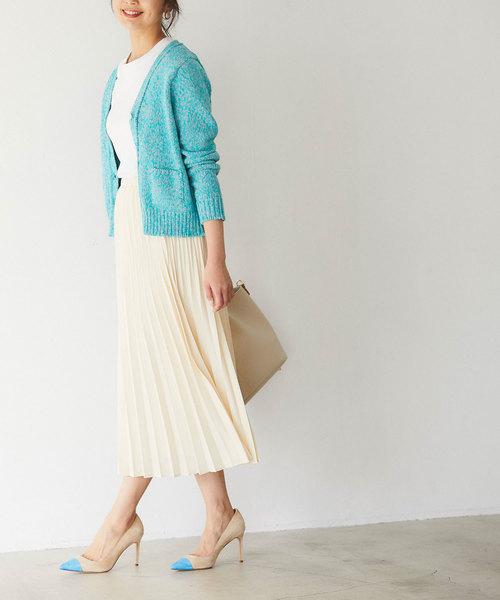 【韓国】4月に最適な服装:スカートコーデ7