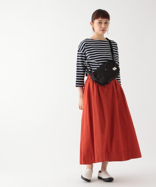 [studio CLIP] コットンツイルカラーチノスカート