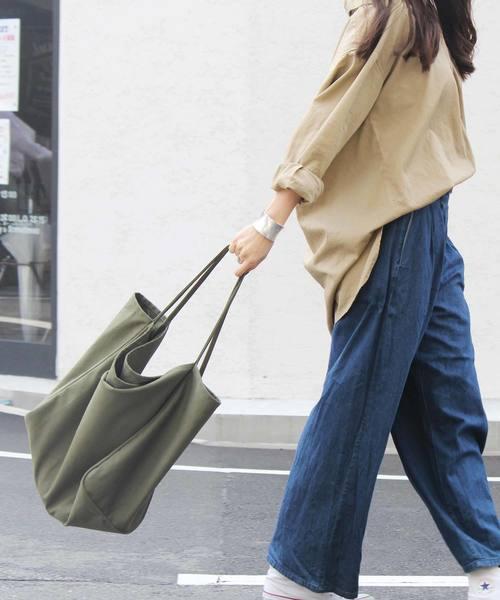 [VitaFelice] キャンバストートバッグ リバーシブルビッグトートバッグ ショルダーバッグ トラベルバッグ 春バッグ アウトドア 旅行バッグ