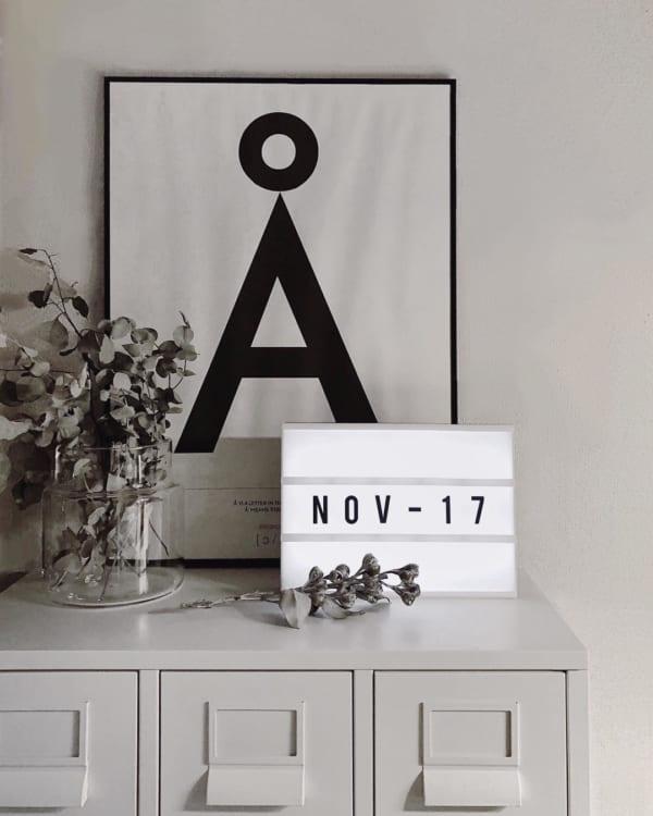 カレンダーの飾り方12