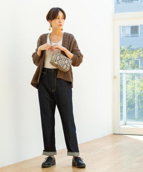 [coen] ストレートコーンデニム5ポケットパンツ