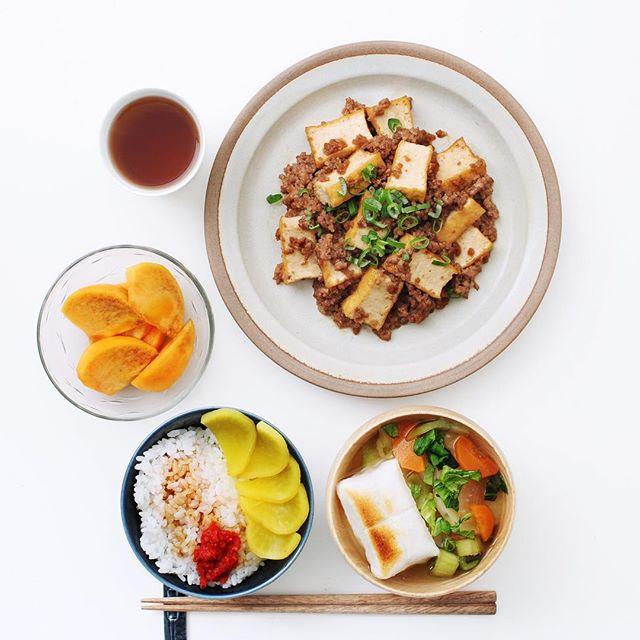 美味しいレシピ!厚揚げ豆腐のひき肉炒め
