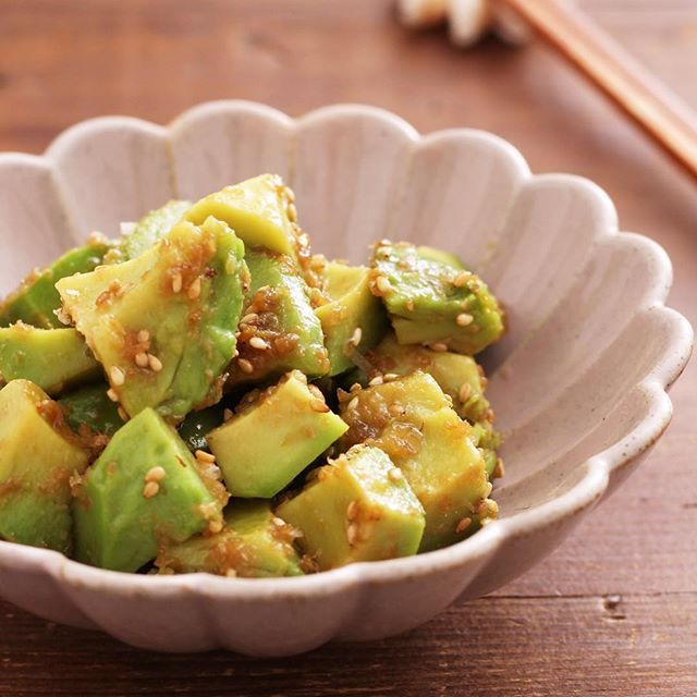 麻婆豆腐の副菜に!ニラ入りじゃがいももち18