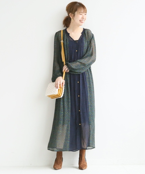 [Spick & Span] 【PAOLA NUTTI】 エコファースリーコンパートメントバッグ◆