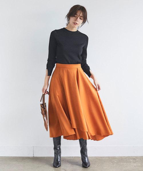 [GALLARDAGALANTE] ピーチアシメスカート