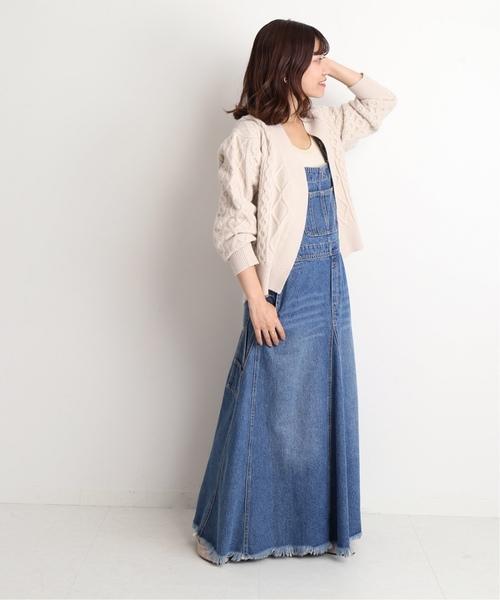 【韓国】4月に最適な服装:ワンピースコーデ