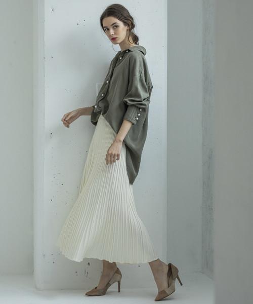 [FREAK'S STORE] STYLE BAR/スタイルバー KNIT PLEATS SKIRT/ニットプリーツスカート