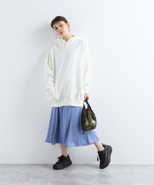 [JOURNAL STANDARD] ヴィンテージサテンフレアスカート