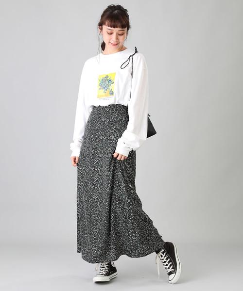 [FREAK'S STORE] プリントマキシスカート2