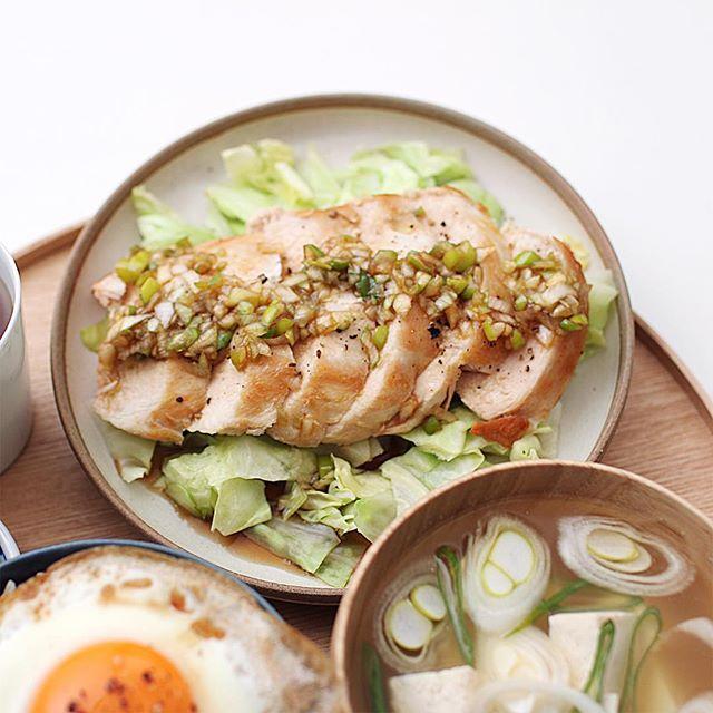 簡単な料理におすすめ!鶏胸肉のねぎポンかけ