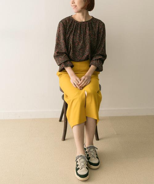 [URBAN RESEARCH] ジョーゼットタイトスカート