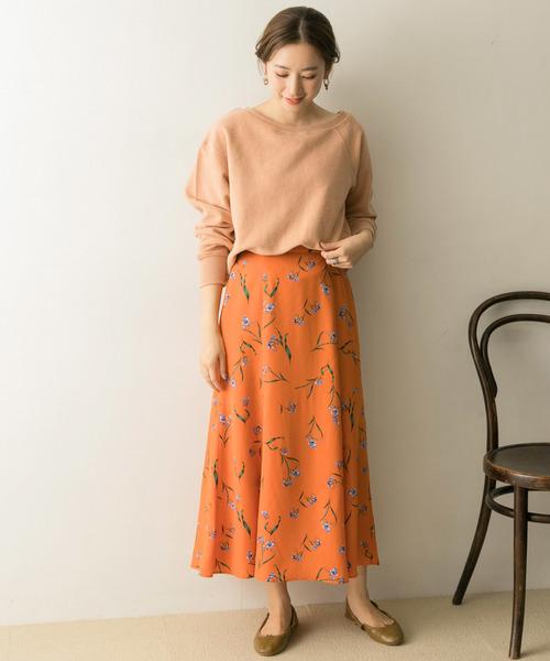 [URBAN RESEARCH] トビバナプリントマーメイドスカート