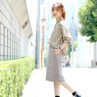 【2020最新】春の一軍アイテム♡ストライプシャツで作る上級者コーデ特集