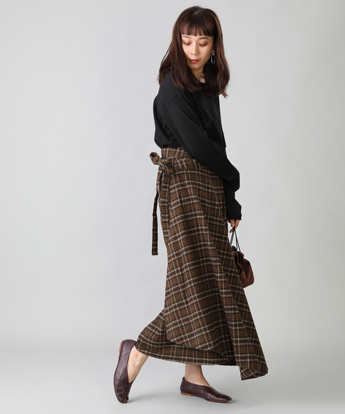 [FREAK'S STORE] PENDLETON/ペンドルトン Wrap Skirt/ラップスカート(ロングスカート、巻きスカート)