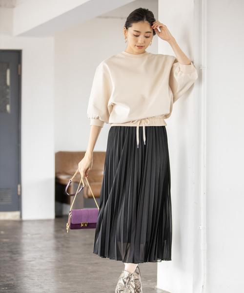 【韓国】4月に最適な服装:スカートコーデ6