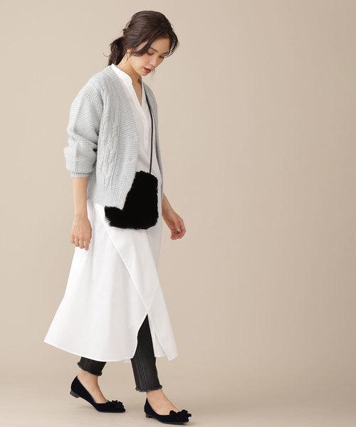 【韓国】4月に最適な服装:ワンピースコーデ3