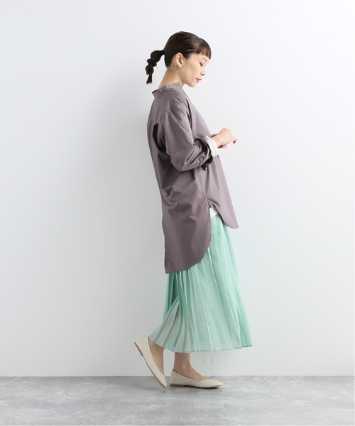 [JOURNAL STANDARD] 【NEU】シアーナイフプリーツマキシスカート