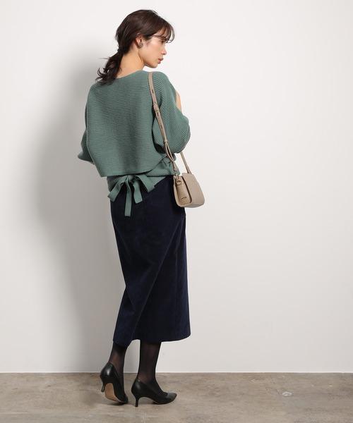 ミニバッグ×スカート3