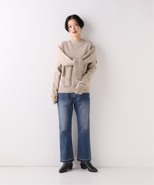 [Spick & Span] 【FRONT ROW SHOP】 2WAYニット◆