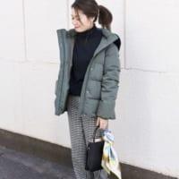 アウターをショートにチェンジ♡「ショート丈ダウン」のきれいめスタイル15選