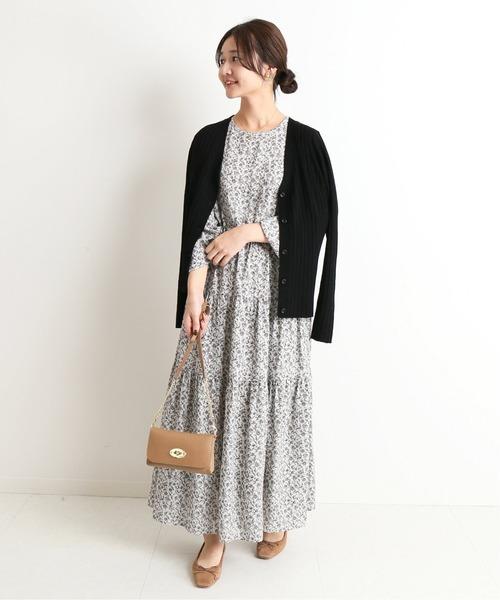 【韓国】4月に最適な服装:ワンピースコーデ2