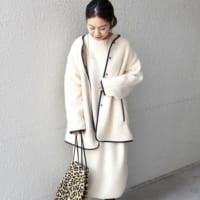 【2020冬トレンド】可愛く防寒!「ボアコート」の着こなし15選