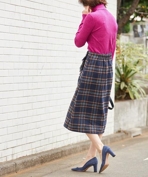 [tocco closet] ツイードボタンAラインスカート