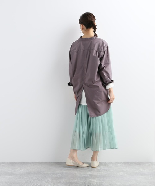 [JOURNAL STANDARD] 【NEU】コットンポリエステルブロードスタンドシャツ