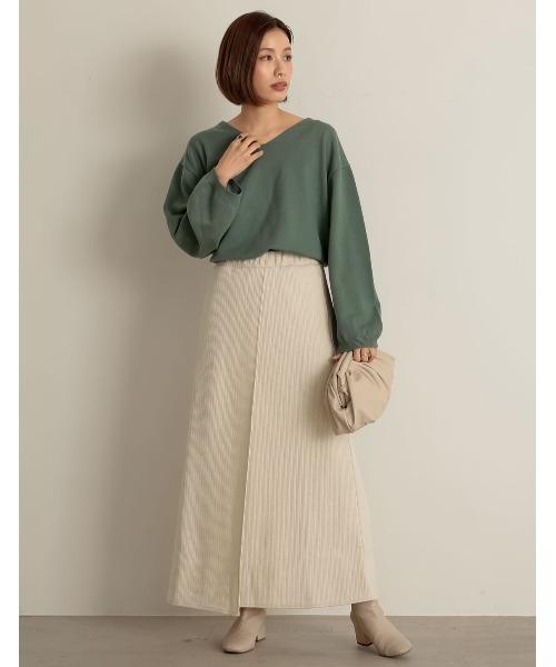 [Re:EDIT] リブセミタイトラップ風スカート