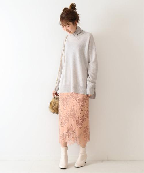 [Spick & Span] ラッセルレーススカート3◆