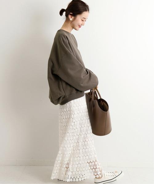 [IENA] 【LUANA /ルアナ】レースマーメイドスカート◆