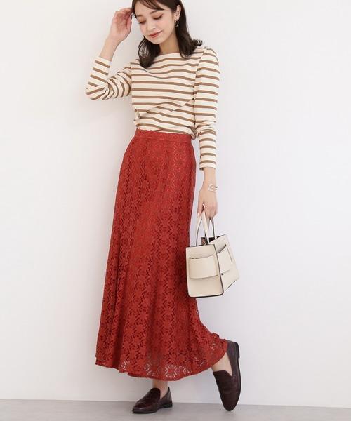[N.(N. Natural Beauty Basic)] ◆レースマーメイドスカート