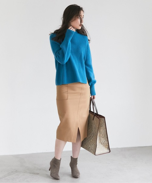 [GALLARDAGALANTE] ダブルクロスタイトスカート