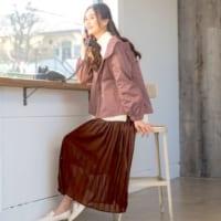 初春ファッションの第一歩♪プリーツスカートで作るちょっぴり春気分コーデ15選