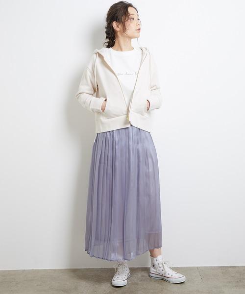 【韓国】4月に最適な服装:スカートコーデ5