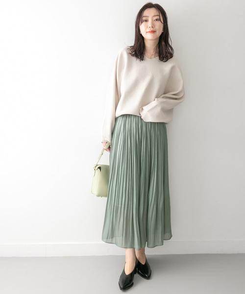[KBF] KBF+ シャイニープリーツスカート