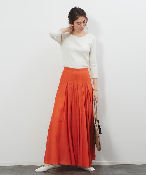 [Rouge vif la cle] 2WAYサーキュラーマキシスカート